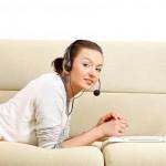 Conquistar mulheres via Skype